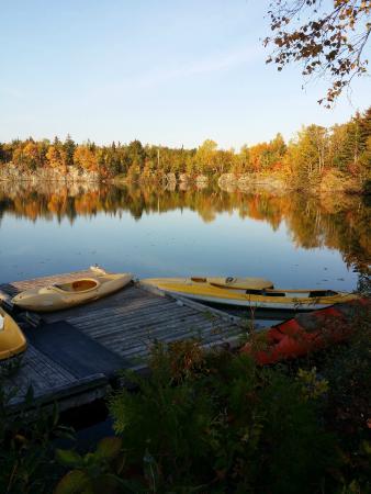 Pointe-Verte, Kanada: canoë