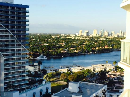 Hilton Fort Lauderdale Beach Resort West View From Room 2017
