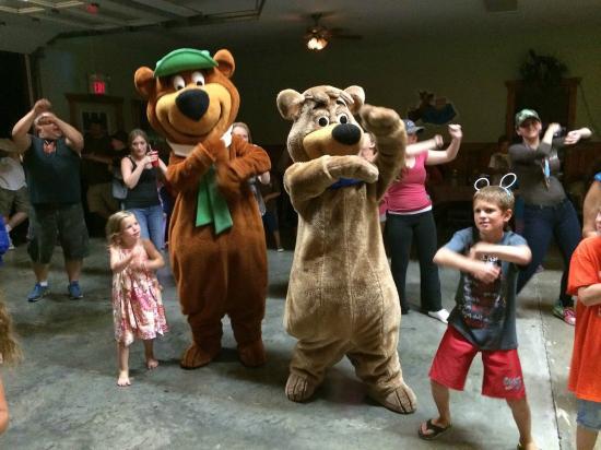 Dancing with Yogi Bear™ and Boo-Boo Bear™