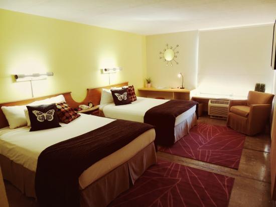 Hotel 502: Deluxe Queen Double room