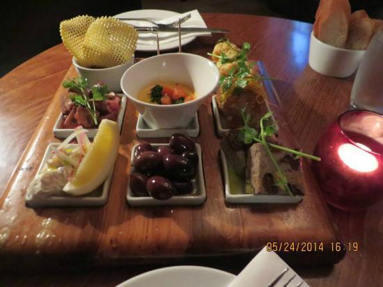 beautiful presentation of the tapas - Picture of Zibibbo Restaurant ...