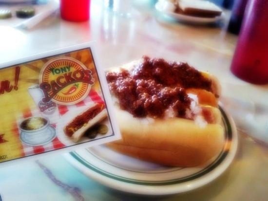 Tony Packo's Cafe: Tony Packo's Hotdog