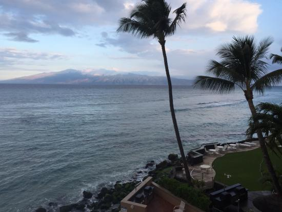 Makani Sands: View from the master bedroom lanai