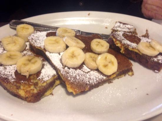 Egg Harbor Cafe: Banana Bread French Toast
