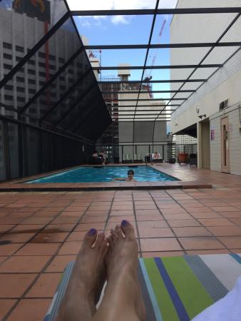 The Pool Area Picture Of Mercure Brisbane King George