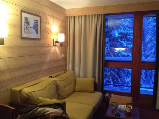 Pierre & Vacances Residence Le Belmont: living area