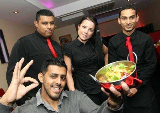 Royal Tandoori Indian Restaurant & Takeaway: Staff at Royal Tandoori