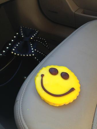 Smiley Face Cookie from Jarosch Bakery