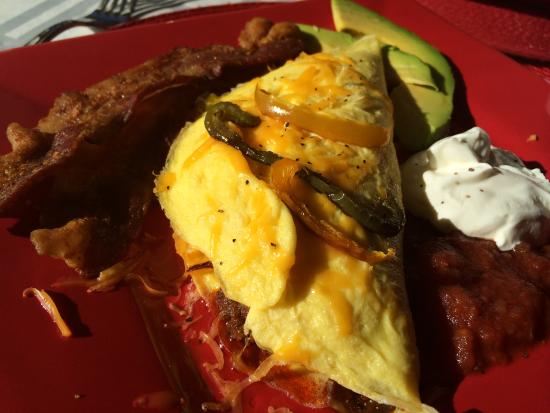 Country Villa B&B Inn & Day Spa: Mexican Omelette