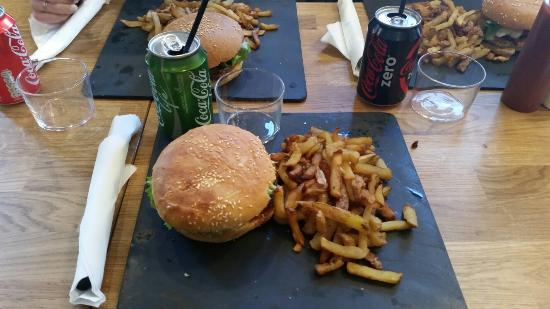 burger atelier du chef excellent photo de l 39 atelier du burger toulouse tripadvisor. Black Bedroom Furniture Sets. Home Design Ideas