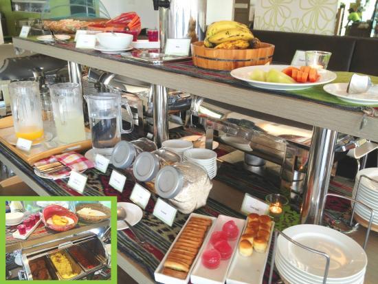เดอะไลม์ทรี โฮเต็ล: Breakfast