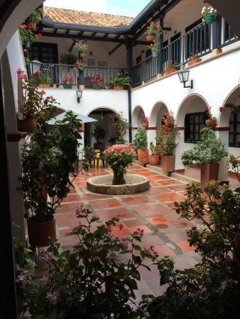 Hospederia La Roca: Centre of hotel