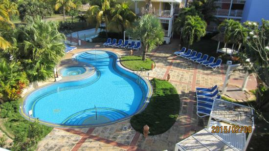 "Royalton Hicacos Varadero Resort & Spa: ""Quiet"" pool view from room."