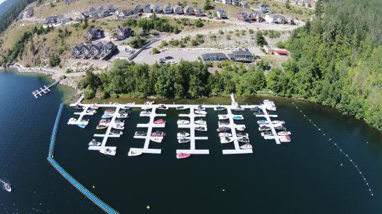 La Casa Cottage Resort: Marina
