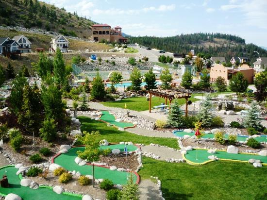 La Casa Cottage Resort: Mini Golf and Activities Area
