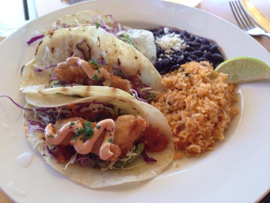 Criollo Latin Kitchen : catfish tacos