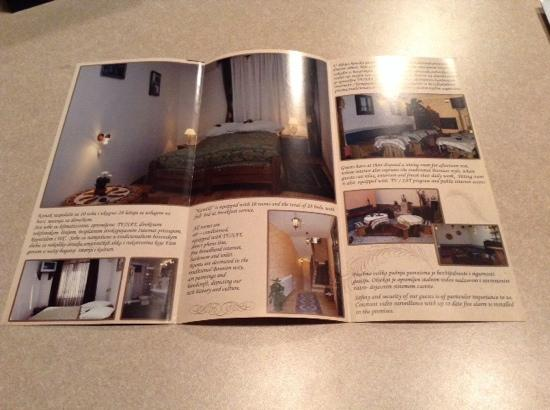 Kandilj Pension: Brochure inside