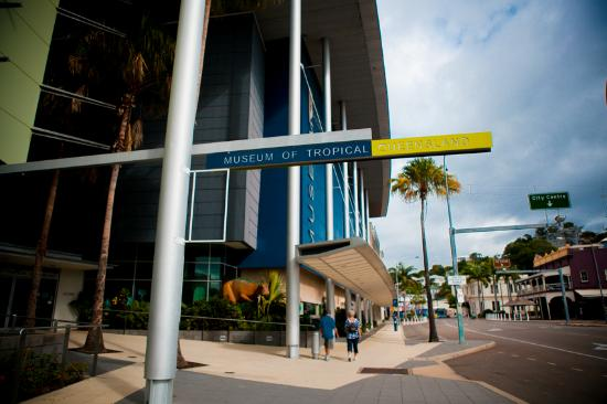 Museum of Tropical Queensland: Did some lose a dinosaur?