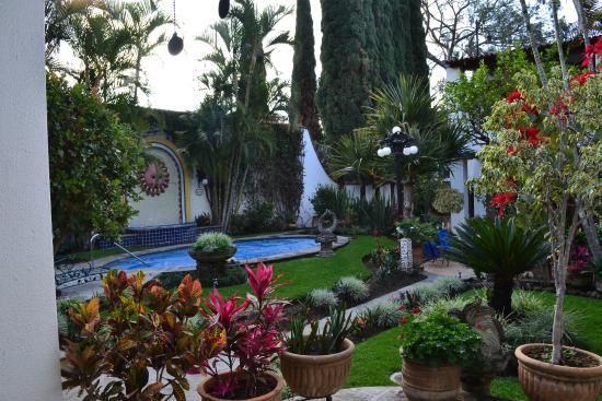 Quinta del Sol: Garden area