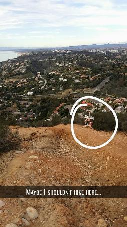 Mount Soledad : Memorial marker down below