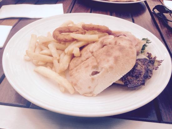 The Huskisson: Steak Sandwich