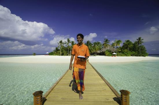 Mirihi Island Resort: Island View