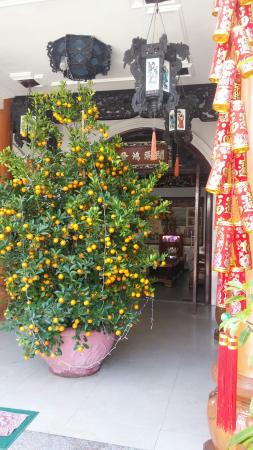Thien Trung Hotel: Новый год.)
