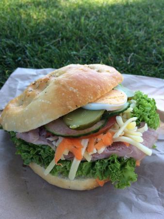 Picton Village Bakkerij: Ham Focaccia $6.90