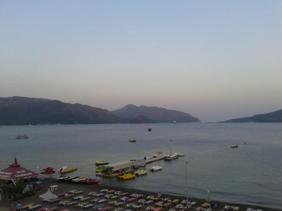 Romance Hotel Marmaris: scenic view from Romance Hotel 5th Floor
