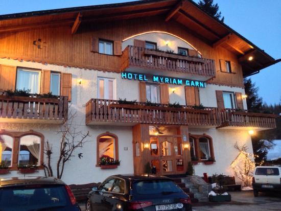 Hotel Myriam: Facciata principale