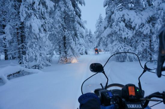 Santa Claus Village: Snowmobile safari