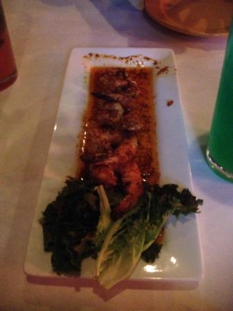 Gino's Bistro: Awesome shrimp off the app menu