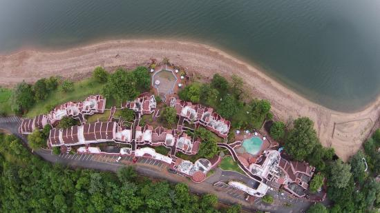 Caribbea Bay Hotel : Drone eye view