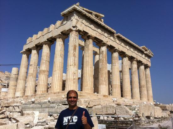 Parthenon On The Acropolis Athens Picture Of Parthenon