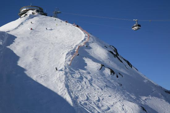 Murren, Switzerland: Steilste Piste 75%