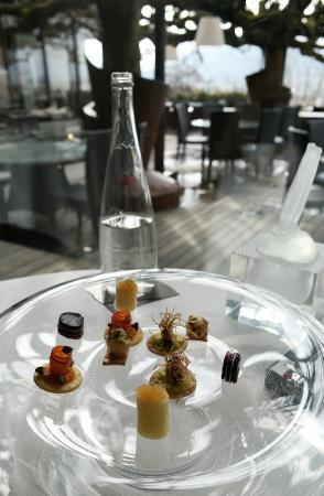 Restaurant Le Clos des Sens: Mise en bouche (ouvrez pas trop la bouche)