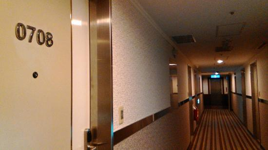 Maison de Chine Hotel Taichung: 廊下の雰囲気