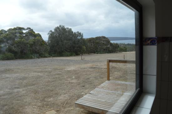 Antechamber Bay Retreats: View from bedroom two