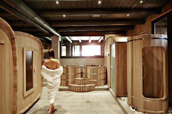 SPA Pure Altitude - Les Fermes de Marie: Sauna, Hammam dans l'Espace Wellness aux Fermes de Marie