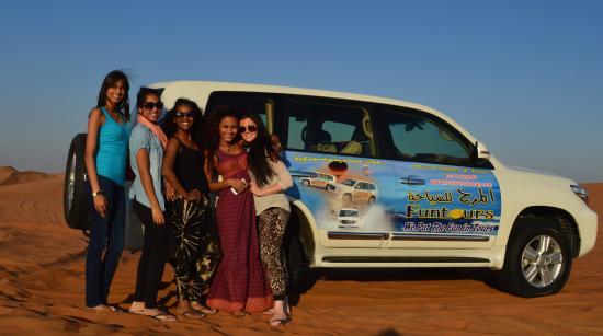 Funtours - Desert Safari Dubai: Thanks Mujeeb- Our Photograph :)