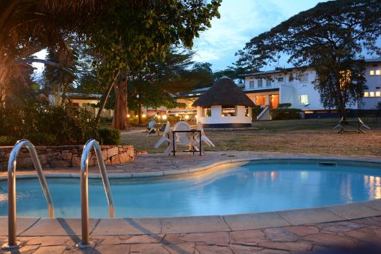 Mount Elgon Hotel: Beautiful Cool Gardens...