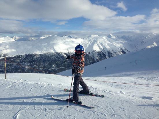 Centrale Scuola Sci e Snowboard: on the top of the mountain :)