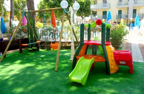 Hotel Palme: Parco Giochi interno all'Hotel