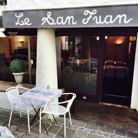 Chez Jules Krepategi : Le San Juan, 16 rue tourasse. 64500 Saint Jean de Luz.