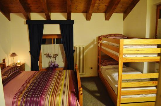 Hotel Locanda le Tre Oche: Camera da letto quadrupla