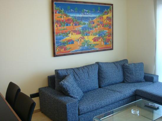 Apartamentos Golden Beach : Living Room