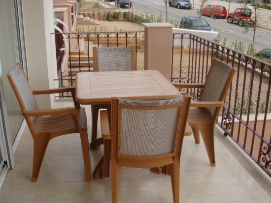 Apartamentos Golden Beach : Balcony