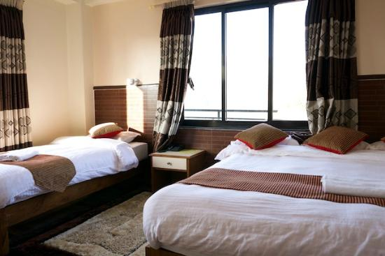 Best bed ever! - Picture of Hotel Adam, Pokhara - TripAdvisor