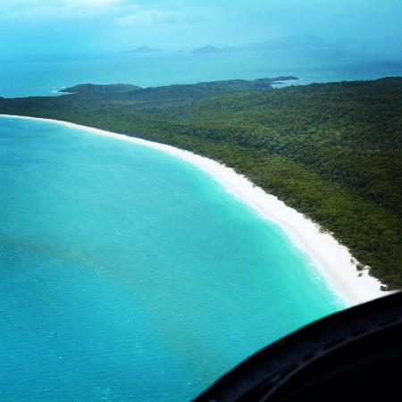 Hamilton Island Air: Whitehaven beach just breath taking