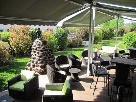 Anemotel : Terrasse Bar